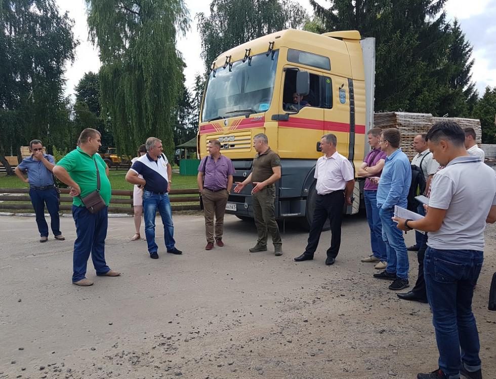 17 липня 2018 року приймала гостей із Сумської, Чернігівської та Дніпропетровської областей